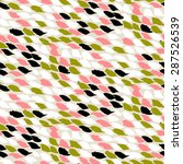 hand drawn pattern with... | Shutterstock .eps vector #287526539