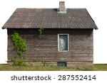 Creative Wooden Rural Shed With ...