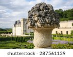 Castle Chateau De Villandry ...