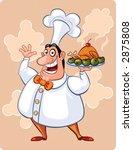 the cook | Shutterstock . vector #2875808