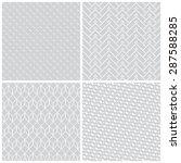 seamless pattern. collection of ...   Shutterstock .eps vector #287588285