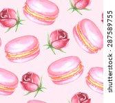 vector seamless watercolor... | Shutterstock .eps vector #287589755