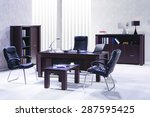 office furniture | Shutterstock . vector #287595425