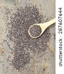 chia seeds   Shutterstock . vector #287607644