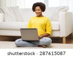 people  technology and leisure... | Shutterstock . vector #287615087