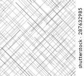 black and white abstract... | Shutterstock .eps vector #287632985