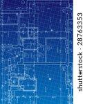 blueprint vector | Shutterstock .eps vector #28763353