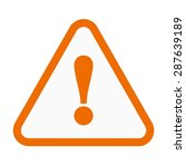 warning  sign  warning sign... | Shutterstock .eps vector #287639189