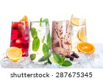 delicious refreshing summer... | Shutterstock . vector #287675345