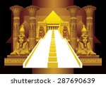 egyptian fantasy with white...