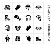 set icons of personal... | Shutterstock .eps vector #287739497