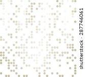 gray white random dots... | Shutterstock .eps vector #287746061