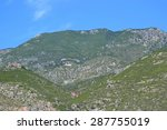Small photo of Mount Gerania in Greece, near Loutraki.