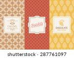 vector set of design elements... | Shutterstock .eps vector #287761097