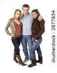 threesome date   Shutterstock . vector #2877854
