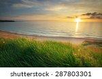 sundown composition. sky  sea ... | Shutterstock . vector #287803301