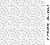 Seamless Curved Shape Pattern....