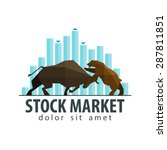 stock market  business vector... | Shutterstock .eps vector #287811851