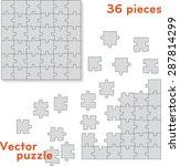 vector puzzle pieces. easy...