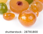 coloured candied fruits | Shutterstock . vector #28781800