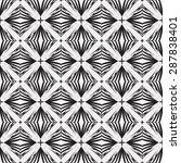 vector seamless geometric...   Shutterstock .eps vector #287838401