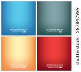 abstract creative concept... | Shutterstock .eps vector #287847989