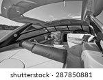 italy  naples  luxury yacht ... | Shutterstock . vector #287850881