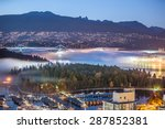 Stock photo vancouver night 287852381