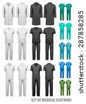 Set Of Medical Clothes. Design...