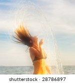 dancing in the sunset drops.... | Shutterstock . vector #28786897