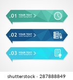 vector illustration paper... | Shutterstock .eps vector #287888849