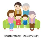 family reunion | Shutterstock .eps vector #287899334