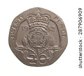 Pound Coin   20 Pence Currency...
