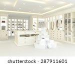 an american luxury walkin...   Shutterstock . vector #287911601