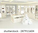 an american luxury walkin...   Shutterstock . vector #287911604