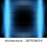 blue empty television or... | Shutterstock .eps vector #287928014