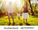 happy family having fun in the... | Shutterstock . vector #287939957