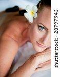 an attractive woman relaxing...   Shutterstock . vector #28797943