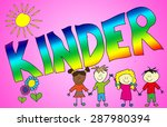 illustration with the german... | Shutterstock . vector #287980394