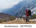 hiker | Shutterstock . vector #28799533