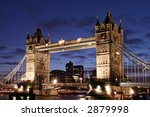 A View Of Tower Bridge Taken...