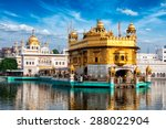 famous indian landmark   sikh...   Shutterstock . vector #288022904