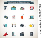 movie  cinema and theater   ... | Shutterstock .eps vector #288029309