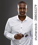 handsome african man  | Shutterstock . vector #288032279