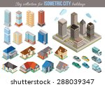 big collection for isometric... | Shutterstock .eps vector #288039347
