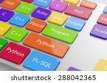 different machine code... | Shutterstock . vector #288042365