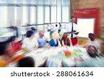 diverse ethnic business... | Shutterstock . vector #288061634