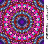 hand drawing seamless... | Shutterstock .eps vector #288123344