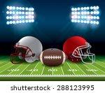 an american football stadium... | Shutterstock .eps vector #288123995