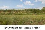abandoned soccer field | Shutterstock . vector #288147854